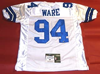 DEMARCUS WARE AUTOGRAPHED DALLAS COWBOYS JERSEY AASH LAST ONE