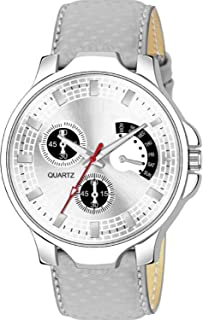 TULIPS FASHION Analogue Grey Dial Unique Watch for Men&Boy