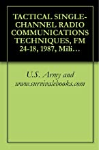 Best tactical single channel radio communications techniques Reviews