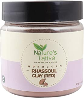 Nature's Tattva Moroccan Rhassoul Clay (Red), 100 g