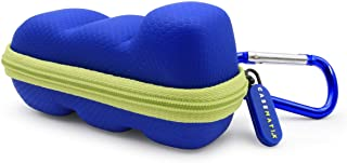Casematix Blue Green Travel Case Compatible with Asthma Inhaler for Children or Adults, Includes Case Only
