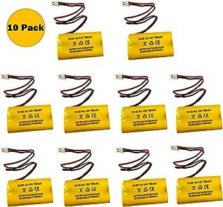 4.8v 700MAH NiCd Battery Exit Sign Emergency Light Nickel Cadmium (10 Pack)