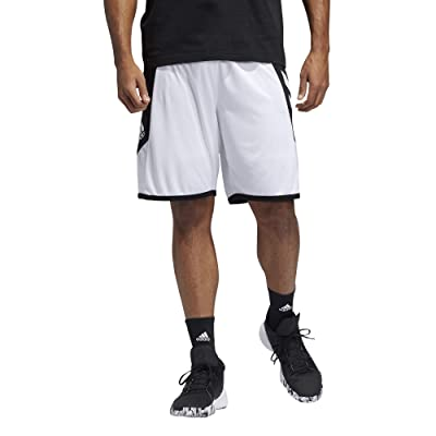 adidas Pro Madness Shorts (White/Black) Men