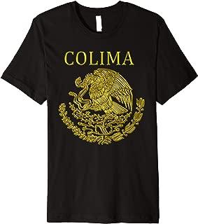 colima mexican mexico escudo shirts