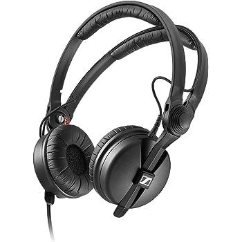 Sennheiser HD 25Casque Dynamique et Professionnel pour DJ, Noir