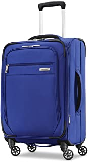 Samsonite Advena Expandable Softside Carry On Luggage with Spinner Wheels