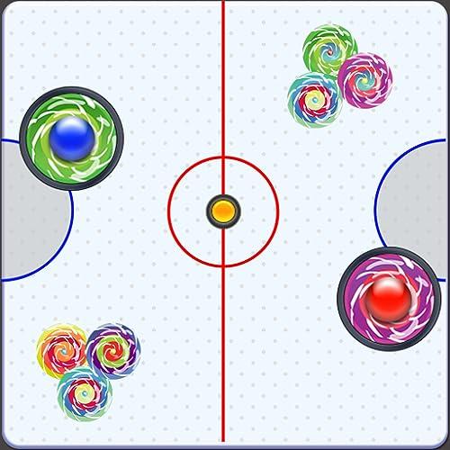 Air Hockey Glow Pro