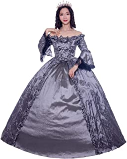 Gothic Lolita Gothic Victorian Dress Party Costume Masquerade Women's Girls' Costume Red Vintage Cosplay Ball Gown