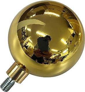 国旗球(金球)7cmネジ式 国旗 日本国旗 球 祝日 祭日 お正月 元旦 日の丸 ネジ ポール