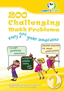 200 Challenging Math Problems every 2nd grader should know