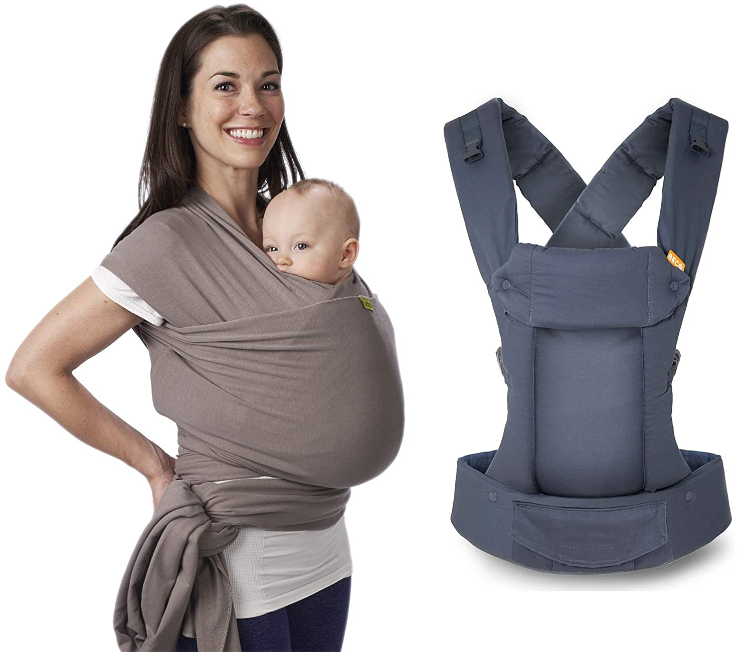 Grey Baby Carrier Max 49% OFF Bundle - Boba Beco Wrap Gemini Popular product