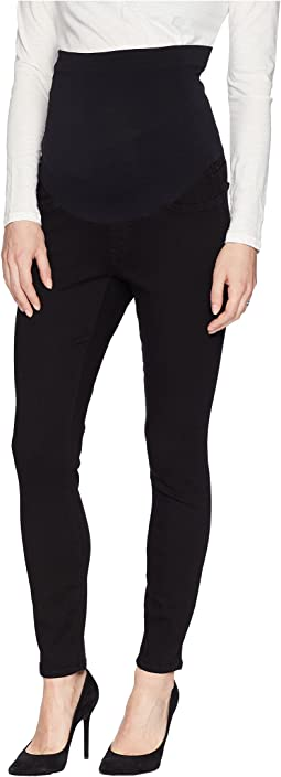 NYDJ Skinny Maternity Ankle in Black