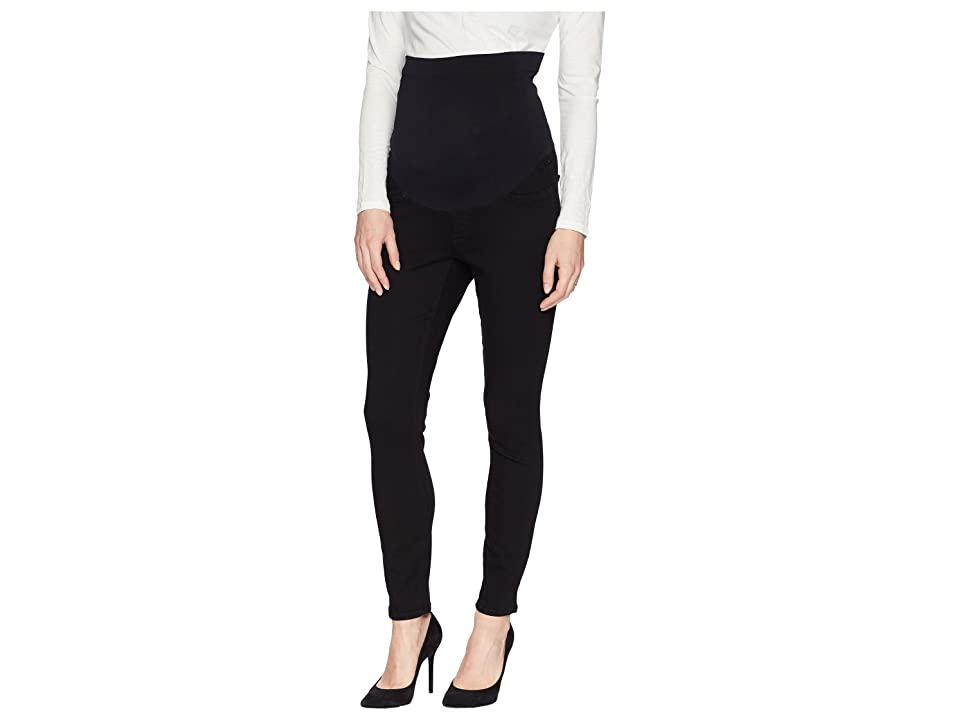 NYDJ Skinny Maternity Ankle in Black (Black) Women's Jeans