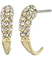 Rebecca Minkoff - Small Pave Hook Earrings