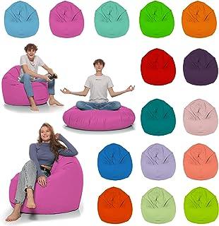 HomeIdeal - Zitzak 2-in-1 functies vloerkussen voor volwassenen en kinderen - gaming of ontspannen - binnen en buiten omda...