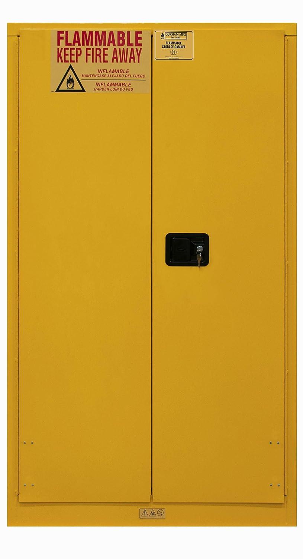 Durham Max Latest item 44% OFF 1060M-50 Flammable storage 60 gallon manual Yellow