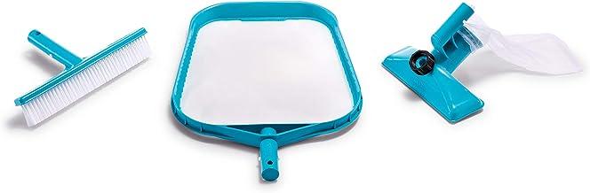 Intex 29056 - Kit de limpieza básico recoge hojas, cepillo