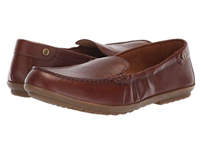 Hush Puppies Aidi Mocc Slip-On (Dachshund Leather) Women