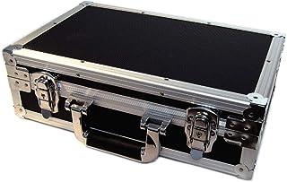 U1 Black Metal Storage Case for Trading Cards TCG Ultra Pro Deck Protector Sleeve Deck Box MTG Magic the Gathering YGO Yug...