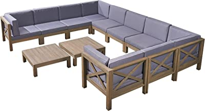 Amazon.com : TK Classics Belle Corner Sofa 2 Per Box ...