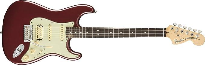 Fender American Performer Stratocaster HSS RW Aubergine w/Gig Bag