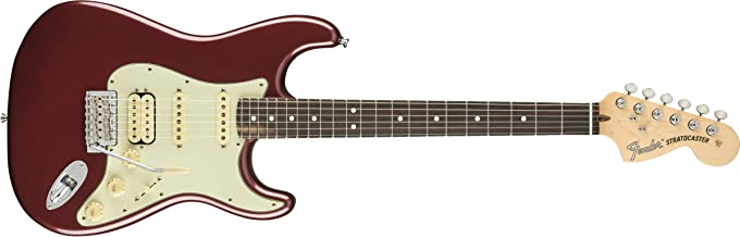 Fender American Performer Stratocaster HSS - Aubergine with Rosewood Fingerboard