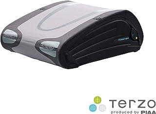 Terzo テルッツォ (by PIAA) ルーフボックス 370L バミューダフレックス ブラック×グレー 両開き 折り畳みタイプ イージークランプ取付 EA370BFX