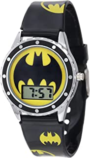 Batman Kids' BAT4068 Logo Watch