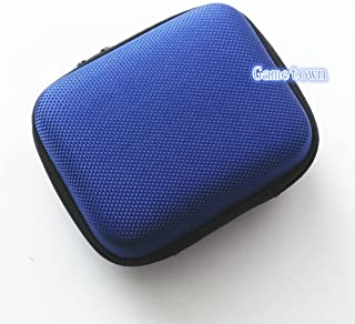 Gametown Protective Case Hard Case Carry Cover Bag Pouch for Nintendo Gameboy Advance SP GBA SP Console Blue