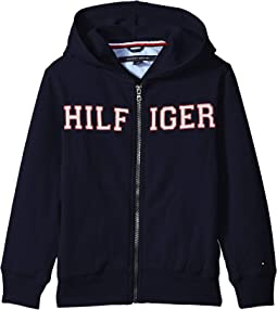 Hilfiger Chest Hoodie (Toddler/Little Kids)