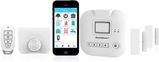 SK-200 SkylinkNet Connected Wireless Alarm System, Security & Home Automation System, iOS iPhone Android Smartphone Compatible with No Monthly Fees.
