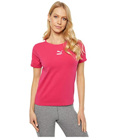 PUMA Classics Tight Top (Bright Rose) Women