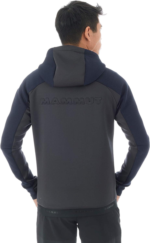 Hombre Mammut Logo Midlayer Sudadera con Capucha