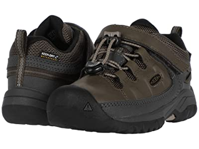 Keen Kids Targhee Low WP (Toddler/Little Kid) (Bungee Cord/Dark Olive) Boy