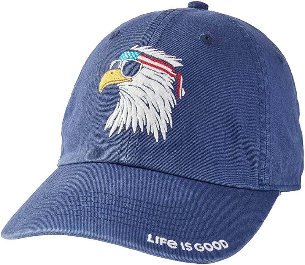 Life is Good American Eagle Chill Cap