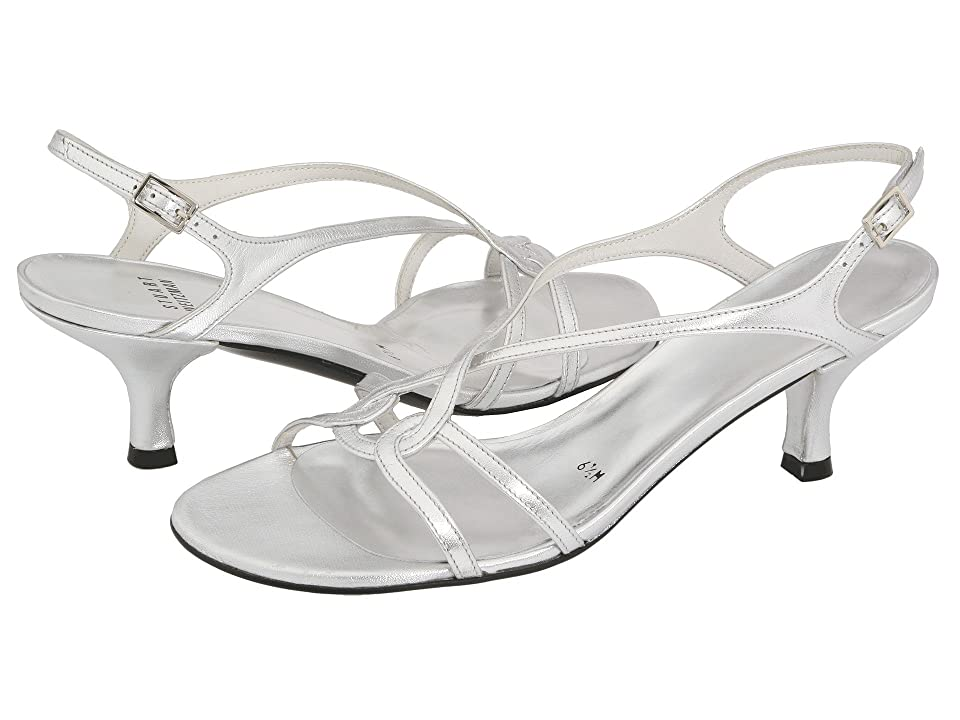 Stuart Weitzman Bridal & Evening Collection Reversal (Silver Supple Kid) Women