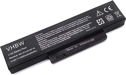 vhbw Akku passend f r Fujitsu-Siemens Esprimo Mobile V5515  V5535  V5555  V6515  V6555 Laptop Notebook  Li-Ion  4400mAh  11 1V  48 84Wh  schwarz