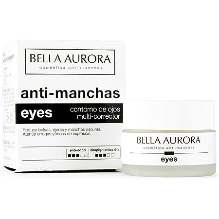 Bella Aurora Contorno de Ojos Crema Despigmentante, 15 ml | Anti-Arrugas | Anti-edad | Reduce Ojeras y Bolsas | Hidratante | Eyes
