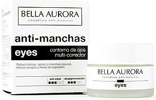 Bella Aurora Contorno de Ojos Crema Despigmentante 15 ml | Anti-Arrugas | Anti-edad | Reduce Ojeras y Bolsas | Hidratante...