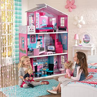 KidKraft Wooden Breanna Dollhouse for 18