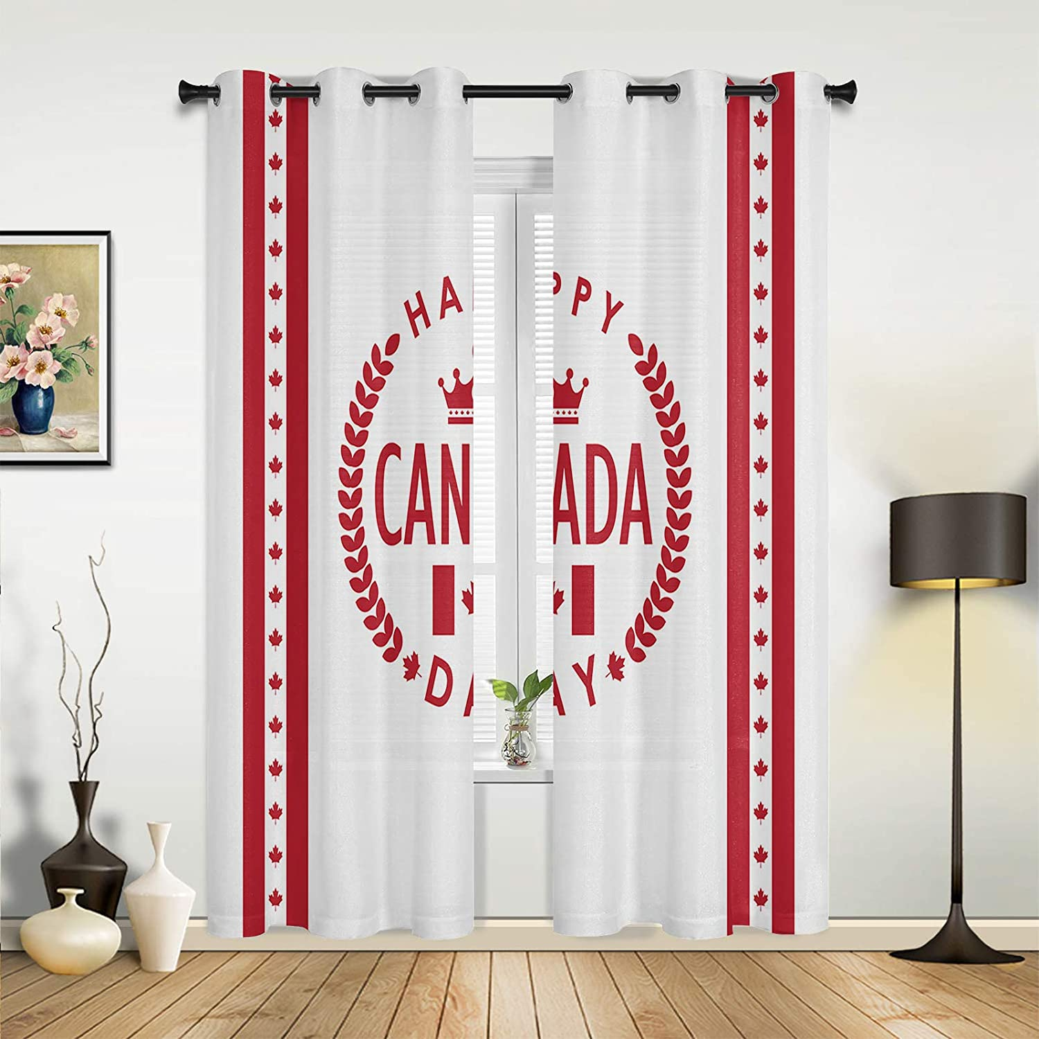 Window Sheer Curtains for 2021 new Bedroom National products Living Canada Room Da