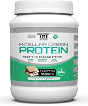 Amazing Micellar Casein Protein Powder for Men and Women Made with Probiotic's, Digestive Enzymes & Organic Stevia. Slow D...