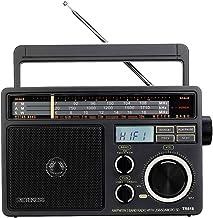 Retekess TR618 Shortwave Radio AM FM Radio Portable Transistor Analog Radio MP3 Player with Earphone Jack Operated by 3 D Batteries or AC Power
