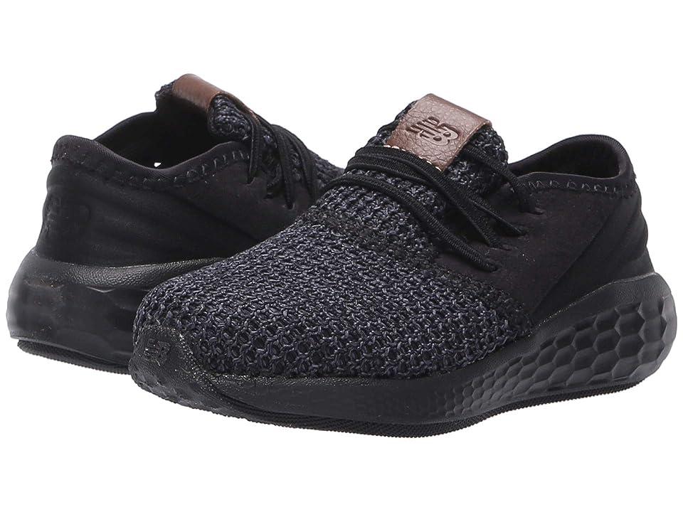 New Balance Kids KVCZDv2I (Infant/Toddler) (Black/Magnet) Kids Shoes