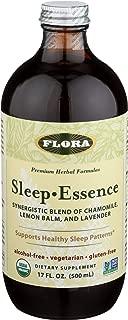 Flora Sleep Essence 17 oz - Natural Sleep Aid Non Habit Forming Herbal Tonic - Organic, Non GMO, Vegan