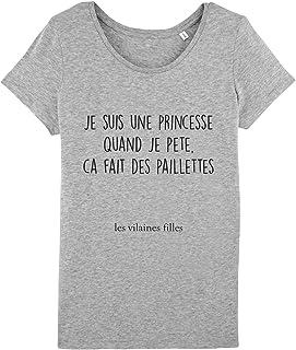 e18363a05685e Les Vilaines Filles - Tee-Shirt - Femme - Humour - Message