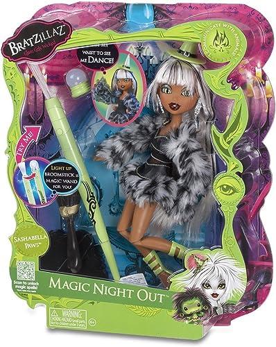 Bratzillaz Magic Night Out Doll - Sashabella Paws by Bratz