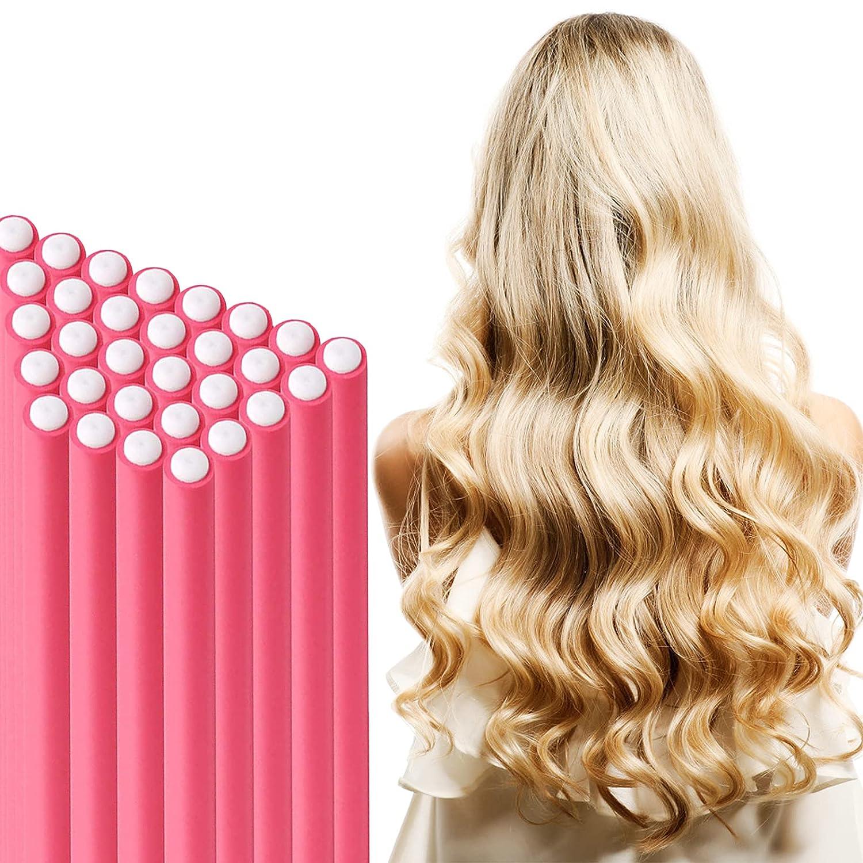 Hair Curling Rods Sleep Curlers Outstanding Rollers Many popular brands Twist 30Piec Flexible
