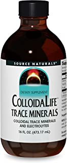 Source Naturals ColloidaLife Trace Minerals & Electrolytes - Dietary Supplement - 16 Fluid oz