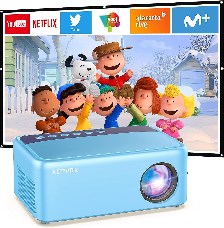 "XOPPOX 640x480 HDMI  LED Kids Mini Projector (2.3"" x 3.8"" x 5.7"") $29.99 Coupon"
